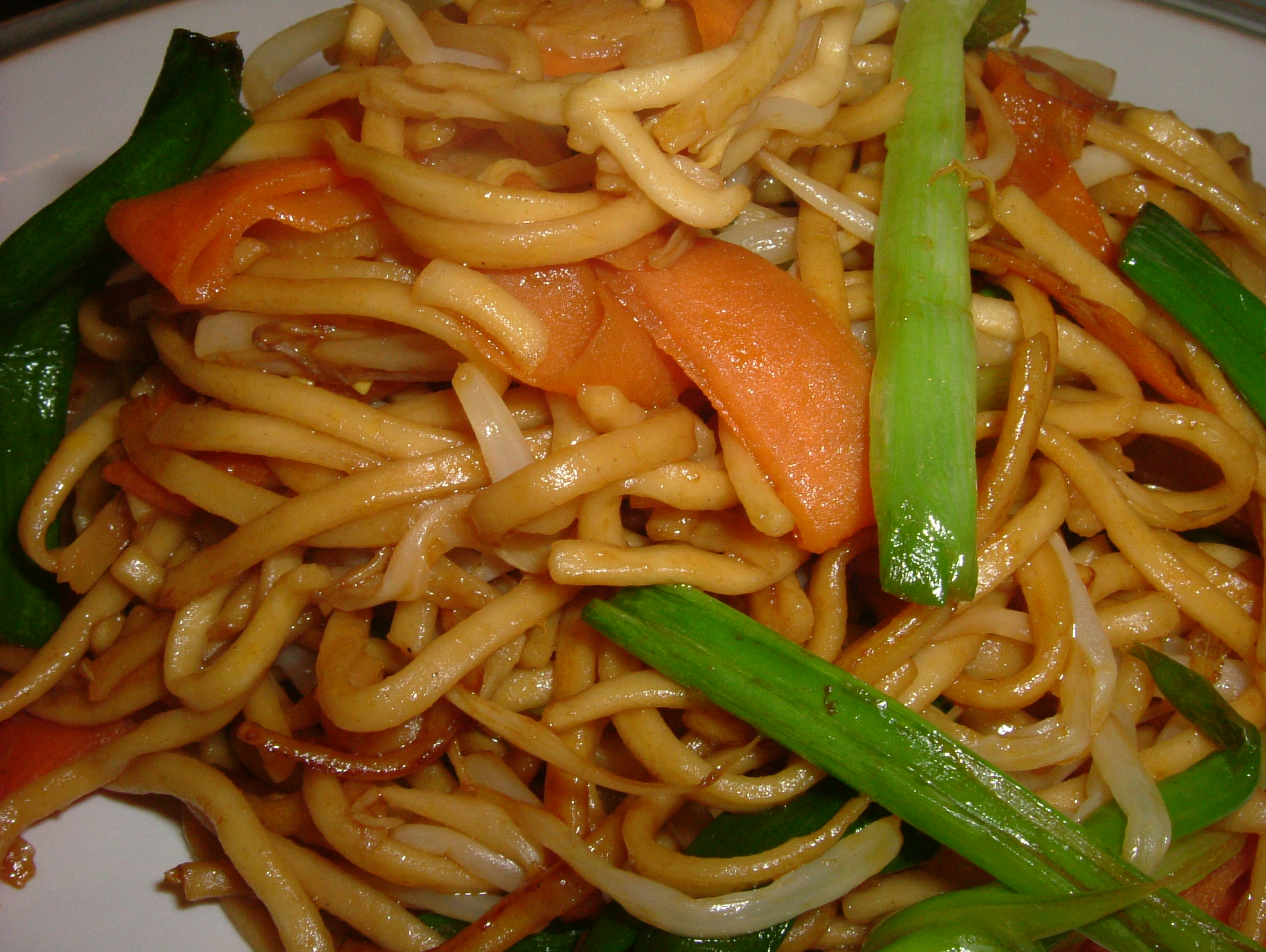 garden noodle or in Chow mein Mein Noodles restaurants Chow Chicken