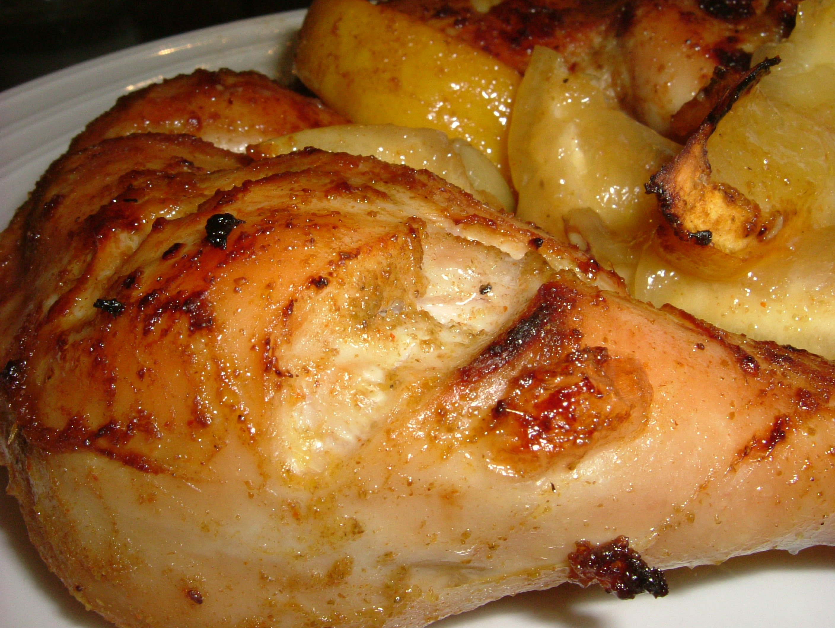 Roast Chicken, Moroccan Style – The Glutton's Kitchen